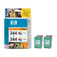 HP no.344 Ink Cart. / 3-color (2x14ml) 2-pack