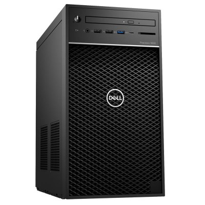 DELL Precision 3630 Tower (E-2136 3.3Ghz, 16GB, 2.5 512GB SSD, nVidia P2000 5GB, Estonian KB, Win 10 Pro, 3yrs)2