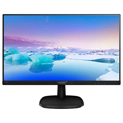 LED IPS 21.5 223V7QSB 00 FHD 1920x1080p 16:9 10M:1 (typ 1000:1) 250cd 8ms 178 178 VGA DVI-D, c:Black2