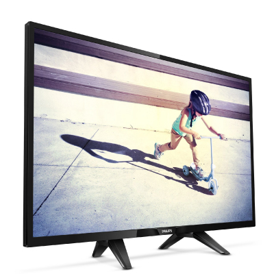 Philips LED TV 24 24PFT4022 FHD 1920x1080p PPI-200Hz 2xHDMI VGA USB(AVI MKV) DVB-T T2 C, 6W, C:Black2