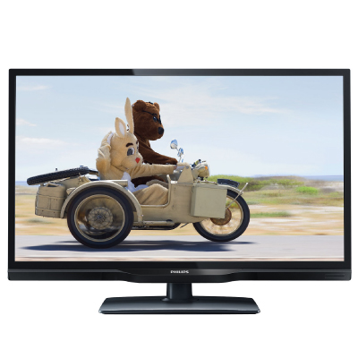 Philips LED TV 24 24PHH4109 HDR 1366x768p 250cd 100.000:1 100Hz HDMI VGA USB(AVI MKV) DVB-T C (MPEG-4) 5W, C:Black2