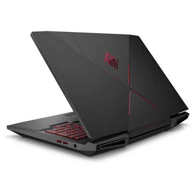 Omen by HP 17-an017na i7-7700HQ  17.3 FHD AG 60Hz  8GB  1TB 7200rpm+256GB PCIE  GTX 1050TI 4GB  No ODD  FHD IR Cam  Shadow Black  W10H62