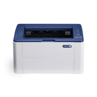 Phaser 3020BI, A4, mono laser, 20ppm, 15K monthly, 128Mb, 8.5 sec, 150 sheets, USB 2.0, WiFi2