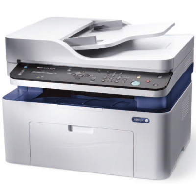 WorkCentre 3025NI, A4, Copy Print Scan Fax, ADF, 20ppm, 15K monthly, 128Mb, 8.5 sec, 150 sheets, USB 2.0, WiFi, Ethernet2