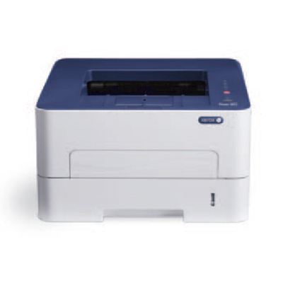 Phaser 3052NI, A4, mono laser, 26ppm, 30K monthly, 256Mb, 8.5 sec, 250 sheets, USB 2.0, WiFi, Ethernet2