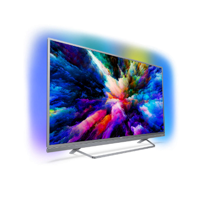 Philips Android™ Ambilight LED TV 55 55PUS7503 12 UHD 3840x2160p PPI-1700Hz HDR+ 4xHDMI 2xUSB LAN WiFi DVB-T T2 T2-HD C S S2, 25W2