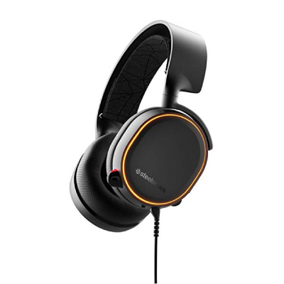 STEELSERIES Arctis 5 Black (2019 Edition), RGB, 7.1, gaming headphones2