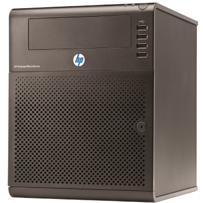 HP ProLiant G7 N54L 2.2GHz 2-core 1P 4GB-U 150W PS EU MicroServer 1YW2