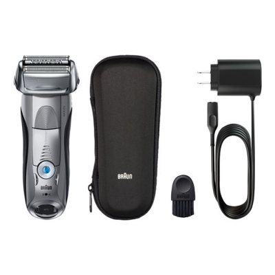 BRAUN 7893S ELECTRIC SHAVER Wamp;D Sil Blk Shaver2