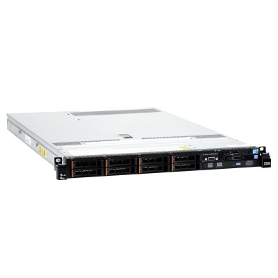 Express x3550 M4, Xeon 4C E5-2603v2 80W 1.8GHz 1333MHz 10MB, 1x4GB, O Bay HS 2.5in SATA SAS, SR M1115, Multi-Burner, 550W p s, Rack2