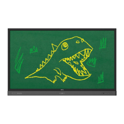 BENQ RP654K Interactive Flat Panel Display, 65, 20 touch points, IR, Black2