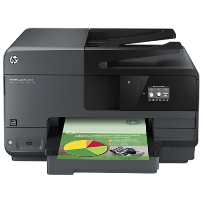 HP Officejet Pro 8610 e-AiO Printer +WIRELESS+USB+FAX+ADF+DUPLEX replaces 86002