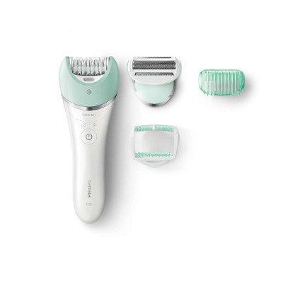 Philips Satinelle Advanced Wet amp; Dry epilator BRE620 00 For legs, body and face 3 accessories Cordless2