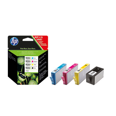 HP no.920XL CMYK Ink Combo Pack