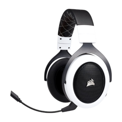 WIRELESS Gaming Headset HS70 White, 2.4GHz, 50mm drivers2