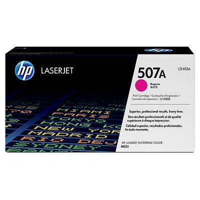 HP 507A LJ Enterprise 500 M551 / M575 series Toner Magenta (6.00