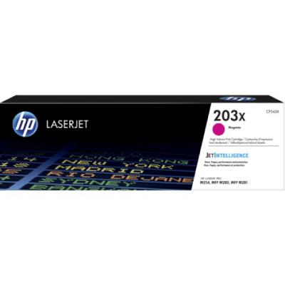 HP 203X High Yield Magenta Original LaserJet Toner Cartridge (25