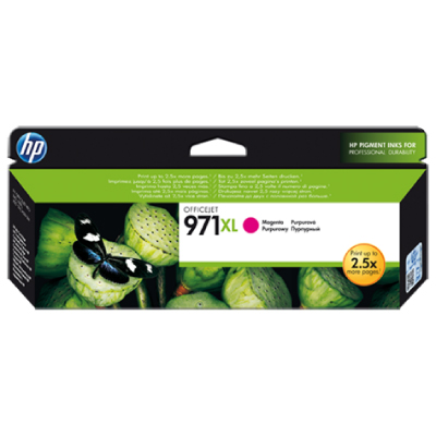 HP no.971XL Magenta Ink Cart. for Officejet Pro  X series (6.600pages)2