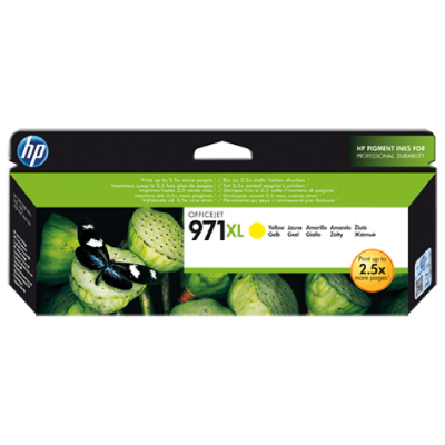 HP no.971XL Yellow Ink Cart. for Officejet Pro X series (6.600pa