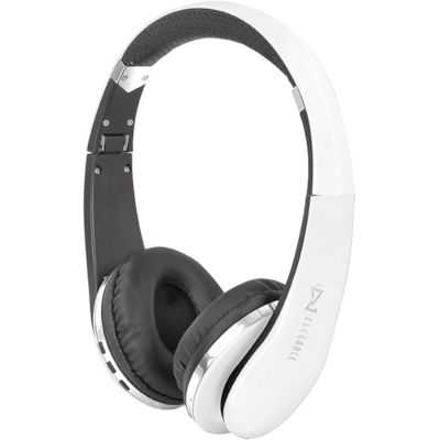 TREVI DJ1200BTWHITE BLUETOOTH HEADPHONES WITH MICROPHONE, WHITE, Smartphones compatible, Bluetooth V2.1 + EDR2