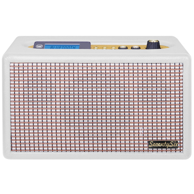 TREVI DS1976VWT RADIO SEVENTYSIX 40TH ANNIVERSARY WHITE, 25W, LCD display with backlight blue2