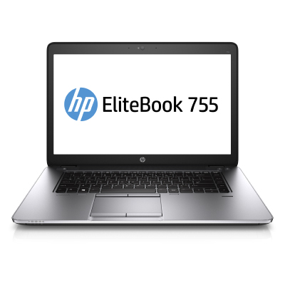 HP EliteBook 755 G2 A10 Pro-7350B 15,6 HD AG 4GB 500GB 7200 BT FP Black USkey WIN7PROdgWIN8PRO 3YW2