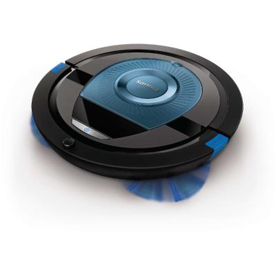 Philips SmartPro Compact Robot vacuum cleaner FC8774 01 TriActive XL nozzle 6 cm slim design 4 wheels system 130 min runtime2