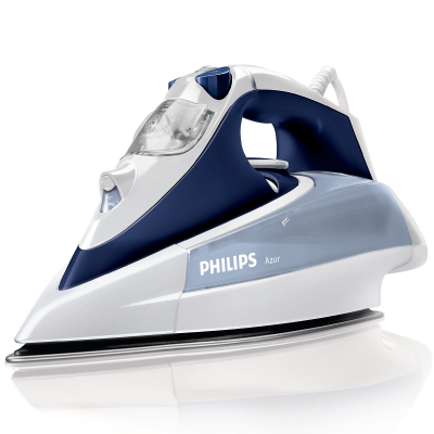 Philips Azur Steam iron GC4410 22 Steam 40g min;150g steam boost SteamGlide Plus soleplate 2400 Watts with SteamGlide soleplate2
