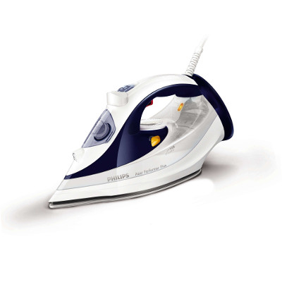Philips Azur Performer Plus Steam iron GC4501 20 Steam 45g min;160g steam boost SteamGlide soleplate Anti-calc 2400 W2