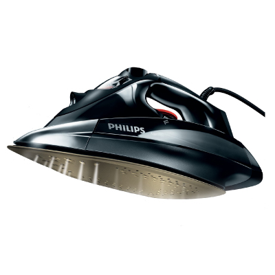 Philips Azur Steam iron GC4890 02 2600 W 200 g steam boost with Anodilium soleplate2