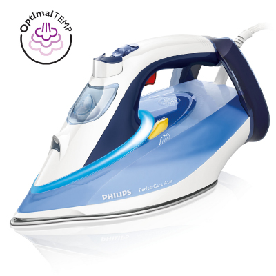 Philips PerfectCare Azur Steam iron GC4914 20 Safe garments 50 g min; 190 g boost T-ionicGlide Auto off w OptimalTemp2