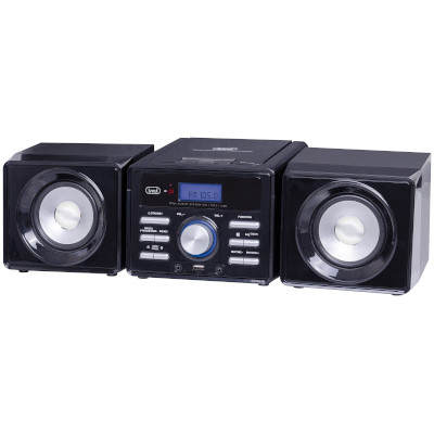 TREVI HCX1030SMINI HI-FI STEREO, BLACK, 10W, CD CDMP3 USB Player2