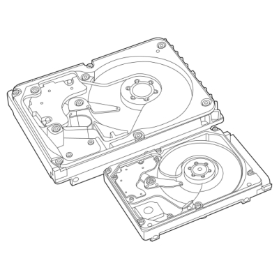 HPE 8TB 6G SATA 7.2K LFF 512e SC MDL HDD