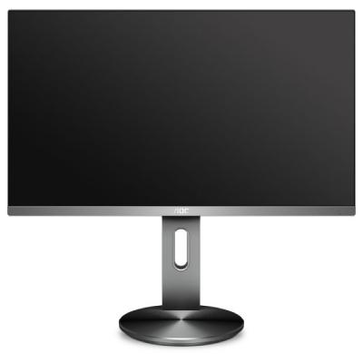 AOC I2790PQU BT LED IPS 27 FHD 1920x1080p 100M:1 (typ 1000:1) 250cd 4ms HDMI D-Sub DP 4xUSB SPK 2x2W, HAS Pivot, col.:Black2