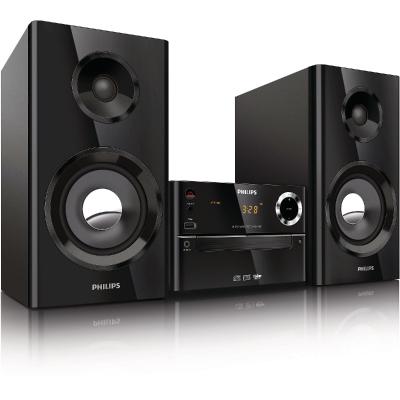 Philips Micro music system MCM2150 70 Watt RMS, USB, MP3 WMA2