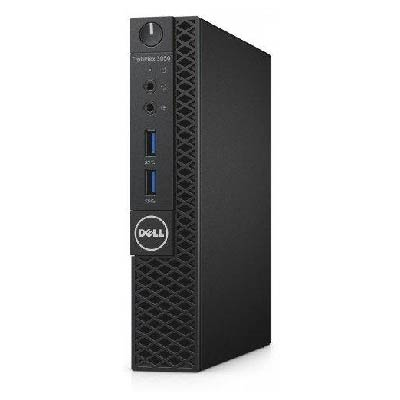 DELL Optiplex 3060MFF Micro Form Factor (I3-8100T, 3.1 Ghz, 4GB, 128GB SSD, mouse, US kb, Win 10 Pro, 3 yrs NBD)