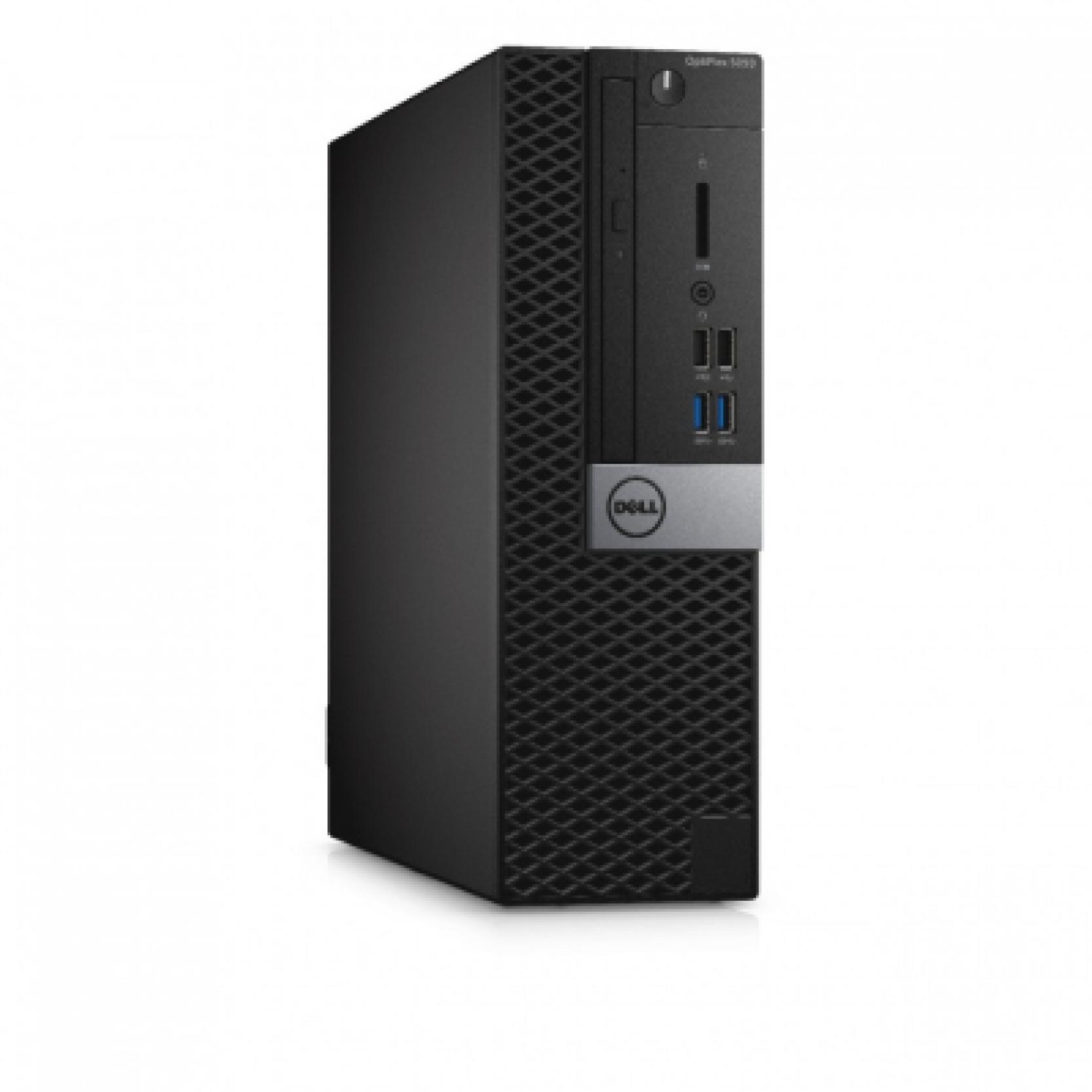 DELL Optiplex 5050SFF (i5-7500, 8GB, 256GB SSD, DVD RW, mouse, Estonian kb, Win 10 Pro 3 yrs NBD)2