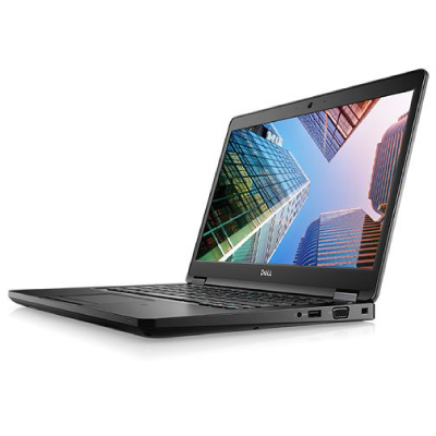 """DELL Latitude 5490 (i5-8250U 1.6GHz, 14"""" FHD 1920x1080, 8GB, 256GB PCIe NVMe Class 40, Intel 620, US backlit KB, Smart card, Win10 Pro 3 yrs)2"""