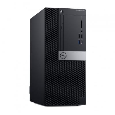 Dell Optiplex 5060 MT Core i7-8700 8GB 256GB SSD Intel UHD 630 DVD RW Estonian Kb+Mouse W10Pro 3yrs2