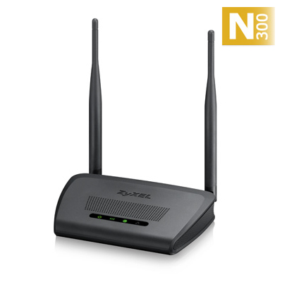 NBG-418Nv2 Router Wireless 802.11n (300Mbps), 4x10 100Mbps, WPA22