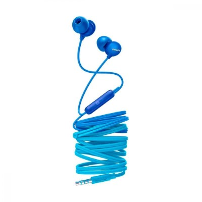 Philips UpBeat In ear headphones with mic SHE2405BL 8.6mm driver