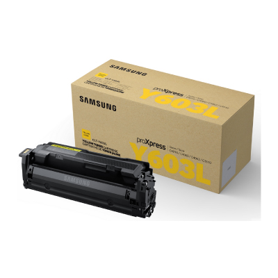 Samsung CLT-Y603L High Yield Yellow Toner Cartridge 10000 pages