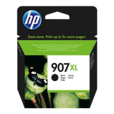 HP 907XL High Yield Black Original Ink Cartridge (1500 pages)