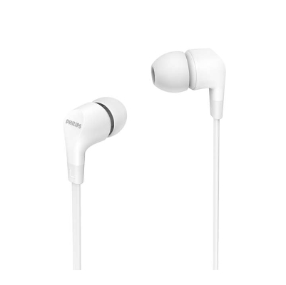 Philips In-Ear Headphones with mic TAE1105WT / 00 powerful 8.6mm