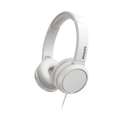 Philips On-Ear Headphones with microphone TAH4105WT / 00 32mm dr