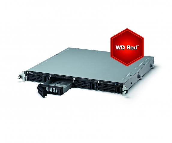 TeraStation 5400 Rack WD Red 8TB NAS & iSCSI 4x2TB 2xGigabit RAI