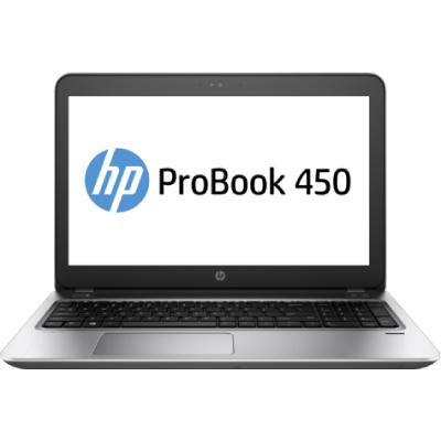 HP ProBook 450 G4  UMA  i5-7200U  15.6 HD AG   4GB  128GB  DVD+-RW    Clickpad   Wifi +BT  FPR  W10p64   3YW2